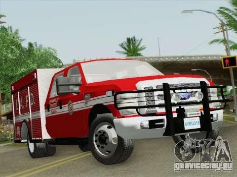 Ford F-350 Super Duty LAFD для GTA San Andreas