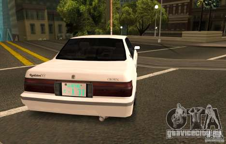 Toyota Crown S130 для GTA San Andreas вид слева