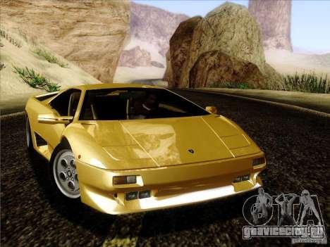 Lamborghini Diablo VT 1995 V3.0 для GTA San Andreas вид слева