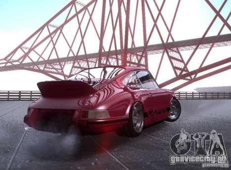 Porsche Carrera RS для GTA San Andreas вид слева