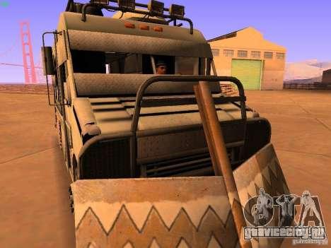 Monster Van для GTA San Andreas вид сзади