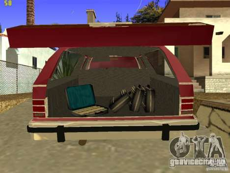 Mercury Grand Marquis Colony Park для GTA San Andreas вид сзади