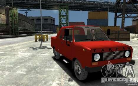 FSR Tarpan 237D для GTA 4 вид сзади