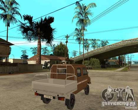 ЛуАЗ-13021-04 для GTA San Andreas вид сзади слева