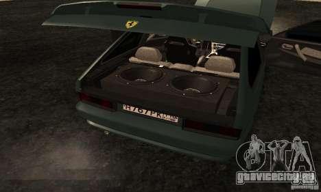 ВАЗ 2113 Ferrari для GTA San Andreas вид сверху