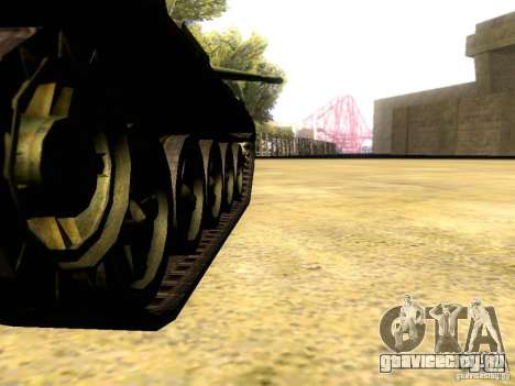 Type 59 V2 для GTA San Andreas вид изнутри