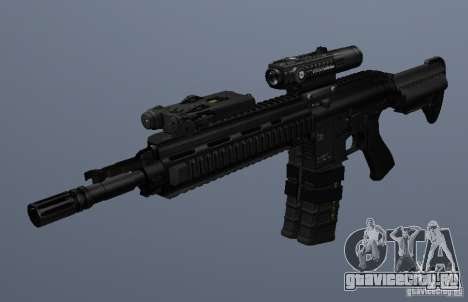 Автоматическая винтовка HK416 для GTA San Andreas третий скриншот