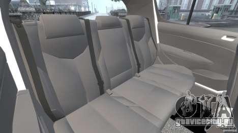Peugeot 308 GTi 2011 v1.1 для GTA 4 вид сбоку