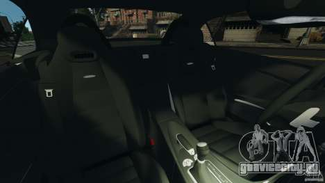 Mercedes-Benz SLK 55 AMG 2010 для GTA 4 вид изнутри