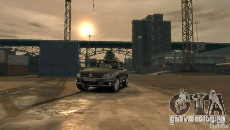 Volkswagen Tiguan для GTA 4 вид сбоку