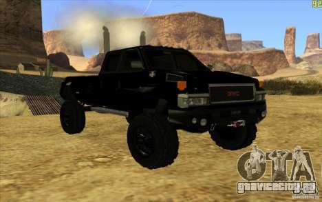 GMC Topkick Ironhide TF3 для GTA San Andreas