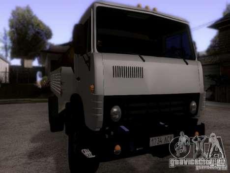 КамАЗ 53212 Молоковоз для GTA San Andreas вид справа