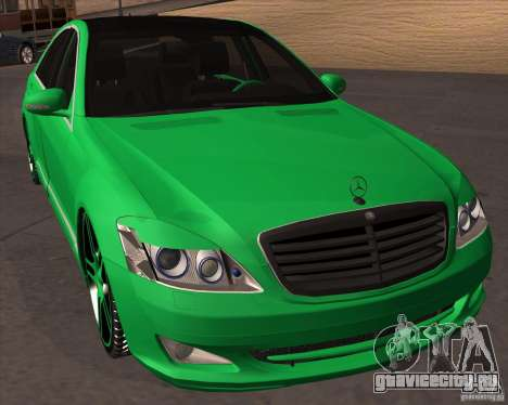 Mercedes Benz S600 Panorama by ALM6RFY для GTA San Andreas вид сзади