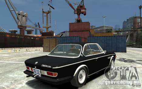 BMW 3.0 CSL E9 1971 для GTA 4 вид справа