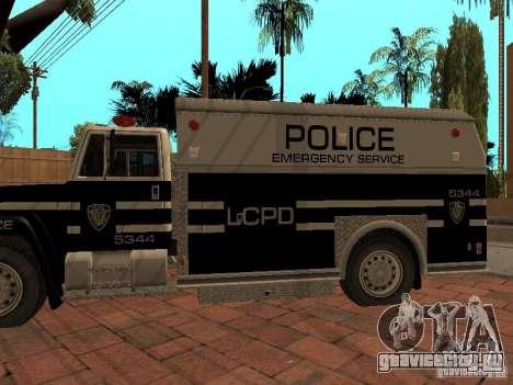 Машина Спецназа HD для GTA San Andreas вид справа