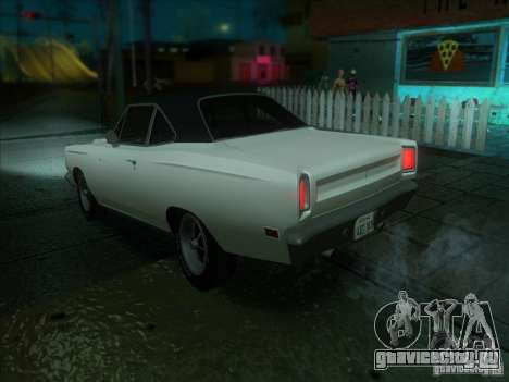 Plymouth Roadrunner 440 для GTA San Andreas вид справа