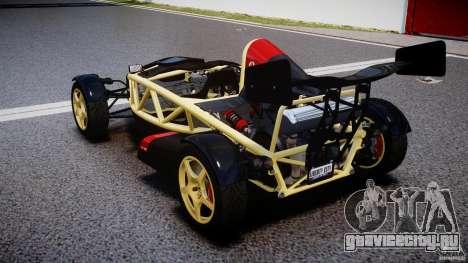 Ariel Atom 3 V8 2012 для GTA 4 вид сзади слева