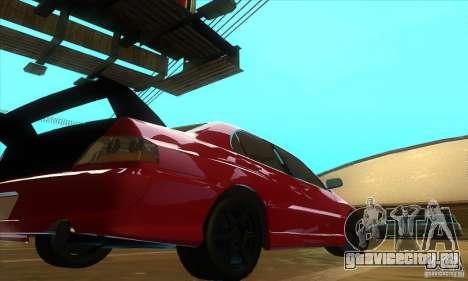 Mitsubishi Lancer Evolution IX Carbon V1.0 для GTA San Andreas вид справа