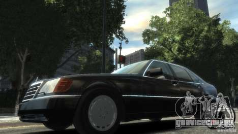 Mercedes-Benz 600SEL wheel2 non-tinted для GTA 4 вид слева