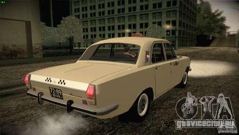 ГАЗ 24-01 Волга Такси для GTA San Andreas вид справа
