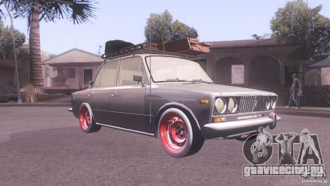 ВАЗ 2106 Tuning Rat Style для GTA San Andreas вид слева