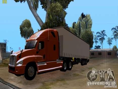 Freightliner Cascadia для GTA San Andreas вид справа