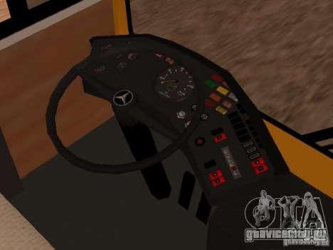 Mercedes-Benz O305 для GTA San Andreas вид справа