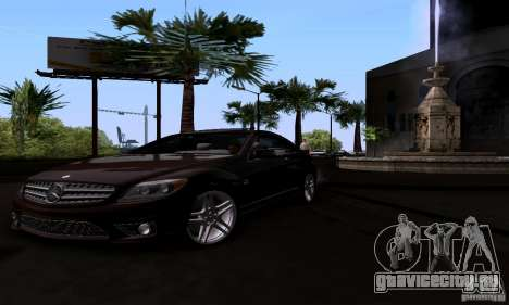 Mercedes-Benz CL65 AMG E.U. для GTA San Andreas вид справа