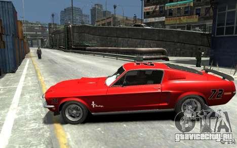 Ford Mustang Fastback 302did Cruise O Matic для GTA 4 вид слева