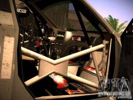 Subaru Impreza Gravel Rally для GTA San Andreas