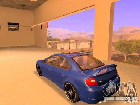 Dodge Neon SRT4 2006 для GTA San Andreas вид слева