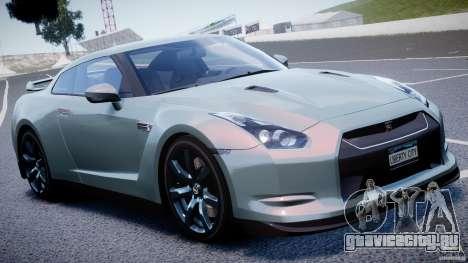 Nissan GT-R R35 2010 v1.3 для GTA 4 вид сверху