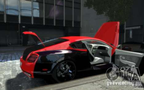 Bentley Continental SS MansorY для GTA 4 колёса