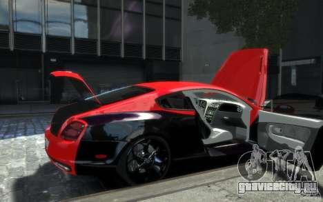 Bentley Continental SS MansorY для GTA 4 колёса