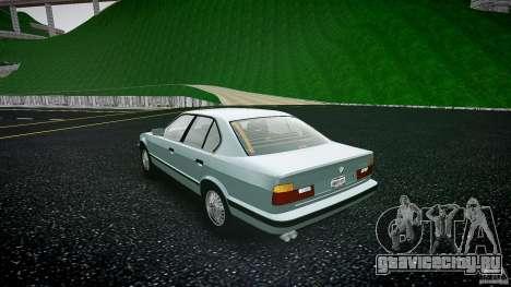 BMW 535i E34 для GTA 4 вид сзади слева