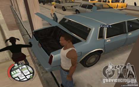 Hide Victim для GTA San Andreas третий скриншот