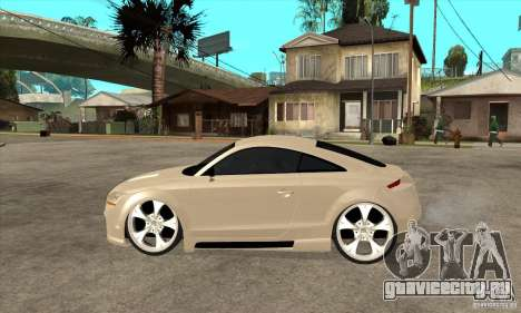 Audi TT Quattro 2007 для GTA San Andreas вид слева