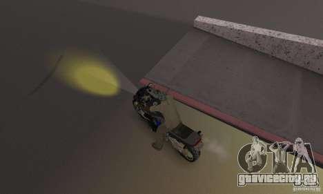 Жёлтый цвет фар для GTA San Andreas третий скриншот