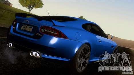 Jaguar XKR-S 2011 V1.0 для GTA San Andreas салон