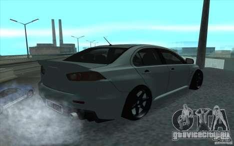 Proton Inspira Stance для GTA San Andreas вид сзади слева