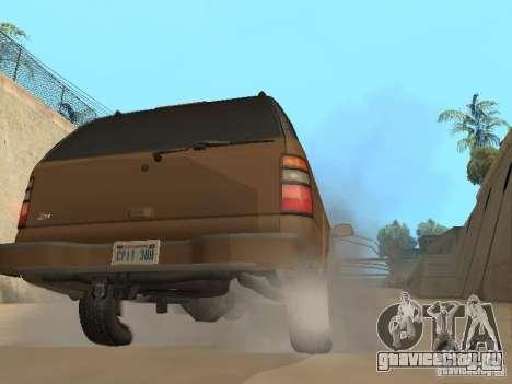 Chevrolet Suburban 2003 для GTA San Andreas вид справа