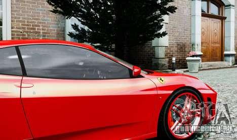 Ferrari F430 для GTA 4 вид сзади