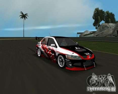 Mitsubishi Lancer Evo VIII для GTA Vice City