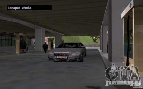 Авто заправщик на АЗС для GTA San Andreas четвёртый скриншот