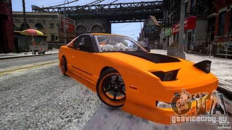 Nissan 240SX Korch для GTA 4 вид справа