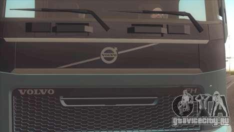 Volvo FH 2013 для GTA San Andreas вид сзади слева