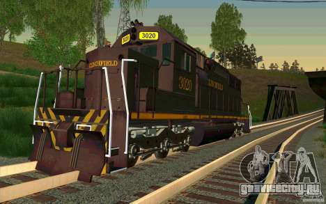Clinchfield sd40 для GTA San Andreas