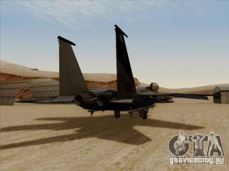F-15C для GTA San Andreas вид слева