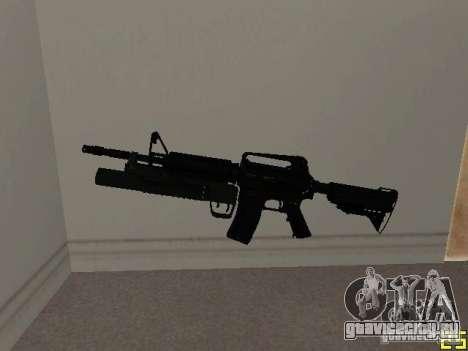 M4 MOD v5 для GTA San Andreas
