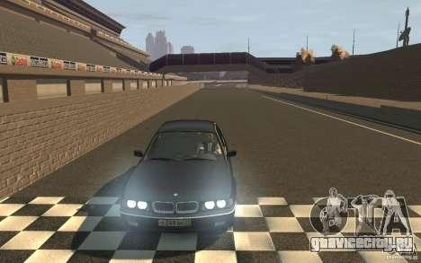 BMW 750i (e38) v2.0 для GTA 4 вид сзади